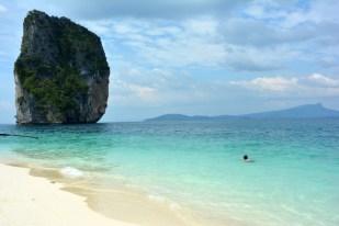 Wyspa Poda pływanie Tajlandia