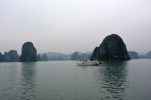 Zatoka Halong rejs Wietnam