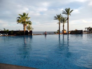 Basen z widokiem na ocean Hotel Barcelo Jandia Playa Fuertaventura
