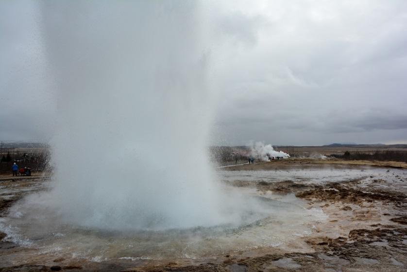 Gejzer Strokkur Islandia