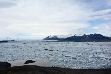 Laguna Jokulsarlon Islandia
