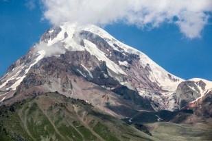 Kazbek przybliżenie Gruzja