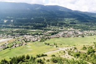 Panorama Mestii Gruzja