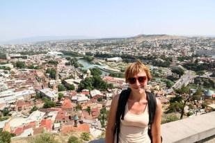 Panorama Tbilisi Gruzja