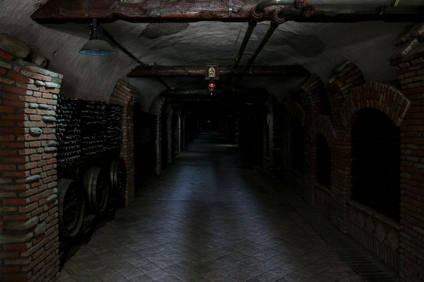Piwnica z winami Gruzja