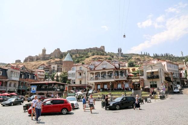 Tbilisi w dzień Gruzja