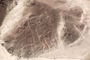Astronauta linie Nazca Peru