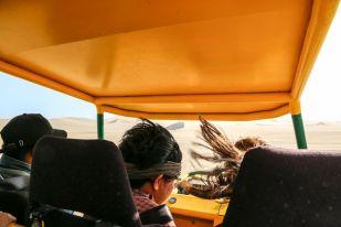 Buggies pustynia Peru