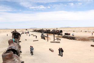 Cmentarzysko Lokomotyw Uyuni 2 Boliwia