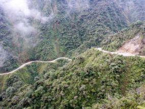 Droga Śmierci La Paz Boliwia 8