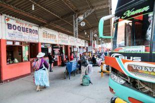 Dworzec autobusowy Tupiza Boliwia