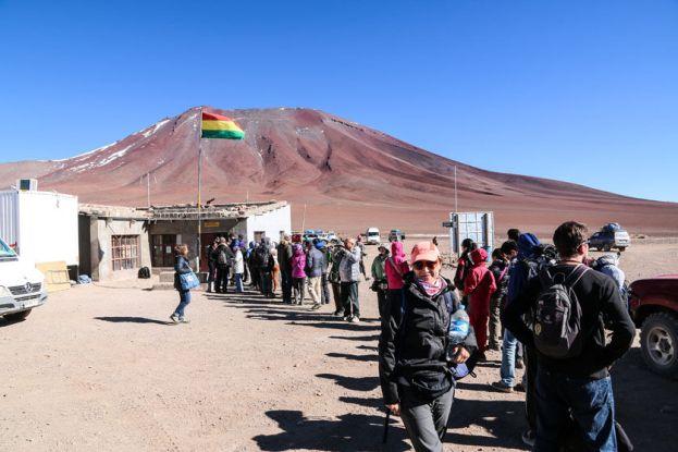 Granica z Chile wycieczka Salar de Uyuni Boliwia