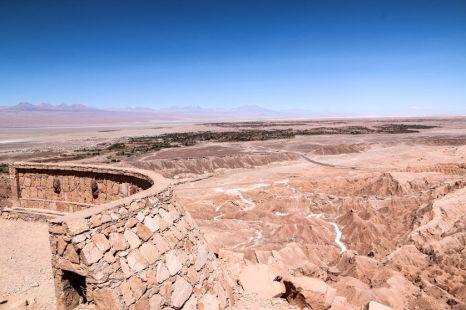 Panorama San Pedro de Atacama Chile