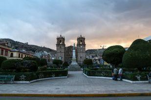 Plaza de Armas w Puno Peru