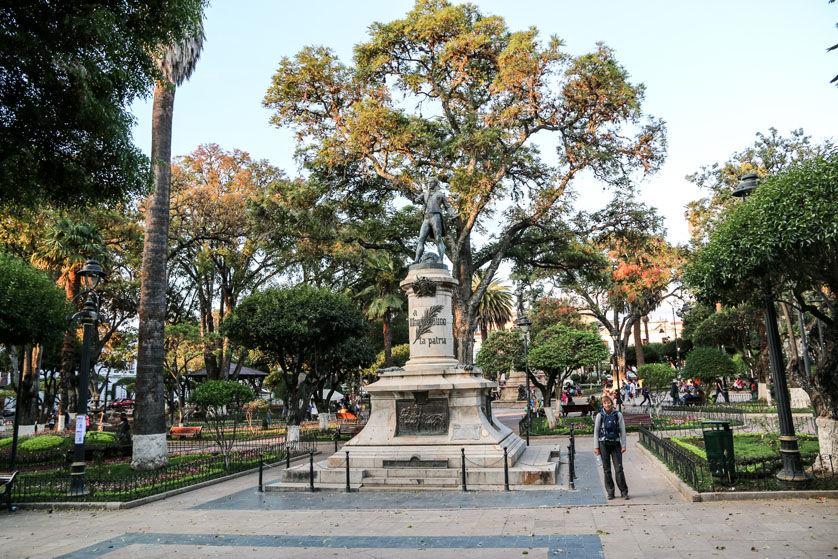 Plaza de Armas w Sucre 3 Boliwia