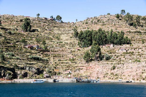 Port Taquile Peru