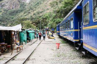Przystanek Hidroelectrica Peru