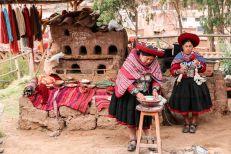 Rzemieślnictwo w Chinchero Peru