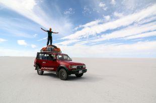 Salar de Uyuni Landcruiser Boliwia