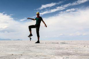 Salar de Uyuni zdjęcia perspektywa Boliwia