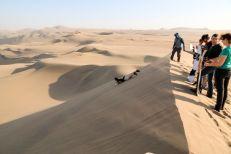 Sandboarding pustynia Ica Peru
