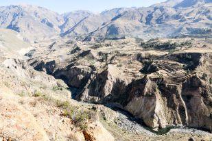 Trasy uprawne w kanionie Colca Peru