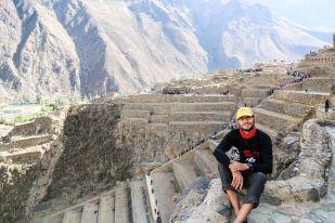 Twierdza Ollantaytambo Peru