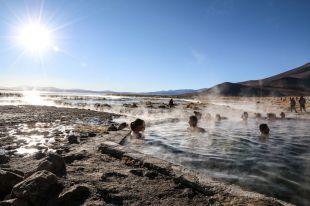 Wody termalne wycieczka Salar de Uyuni Boliwia