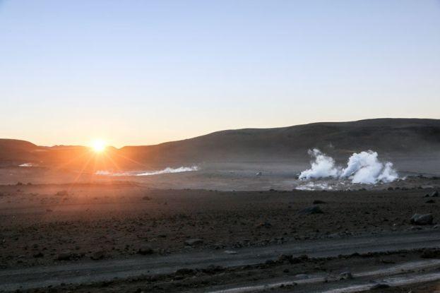 Wschód słońca wycieczka Salar de Uyuni Boliwia