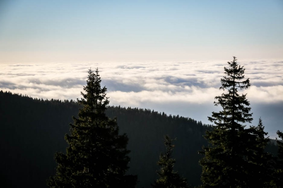 11 Chmury w dolinie Masyw Śnieżnika