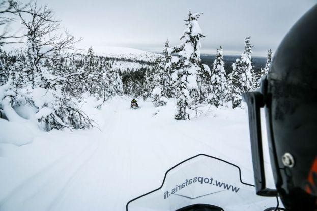 Wycieczka na skuterach śnieżnych 3 Finlandia