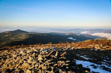 21 Panorama ze szczytu Śnieżnika