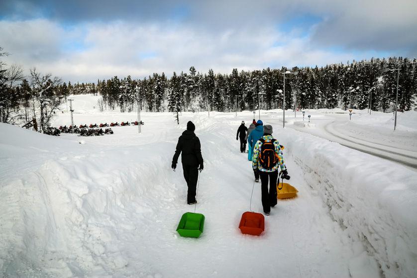 Wyprawa na sanki 2 Finlandia