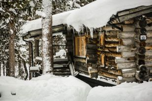 Sopelki na chatce Finlandia