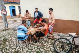 Gra w domino Trinidad Kuba