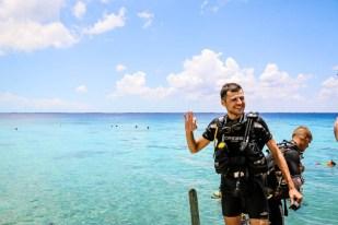 Nurkowanie w Zatoce Świń Playa Larga