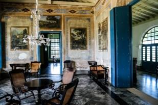 Wnętrze rezydencja barona cukrowego