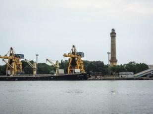 Port i latarnia w Świnoujściu
