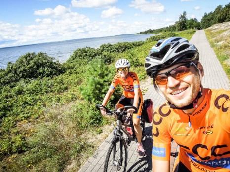 Ścieżka rowerowa na Półwyspie Helskim 2