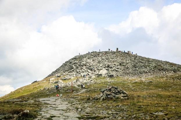 Babia Góra kupa kamieni