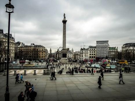 Trafalgar Square Londyn 2