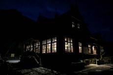 Schronisko Morskie Oko nocą