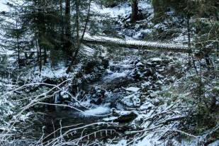 2 Potok Koninek szlak na Turbacz