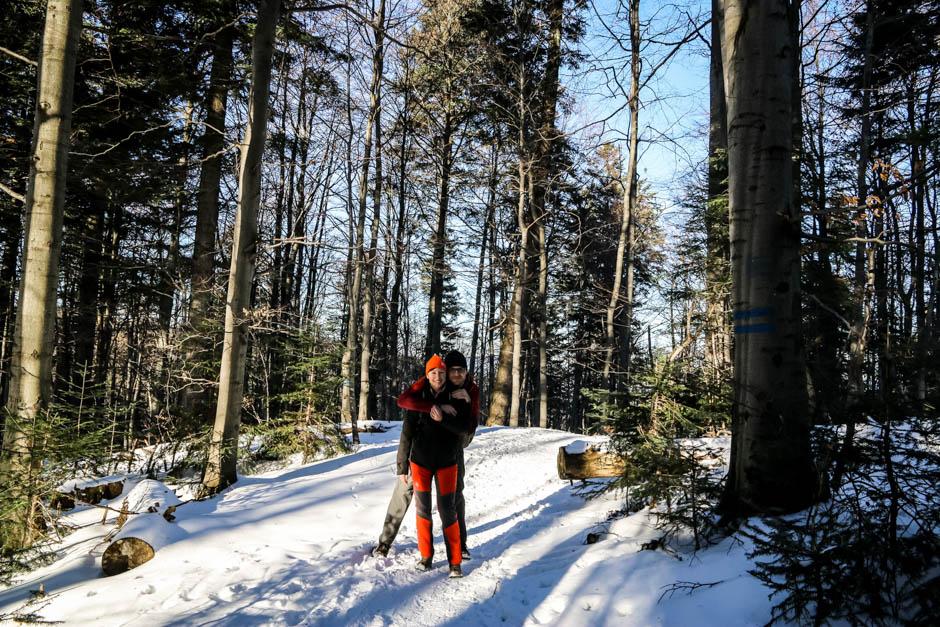 3 Las w drodze na Turbacz
