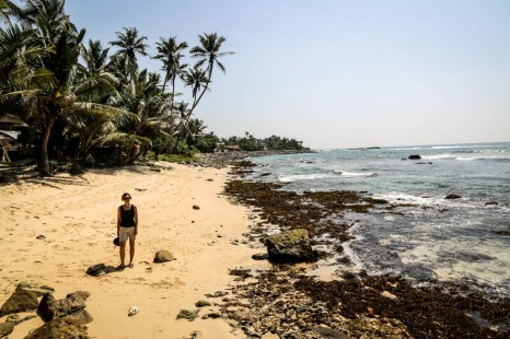 Dzika plaża Sri Lanka 2