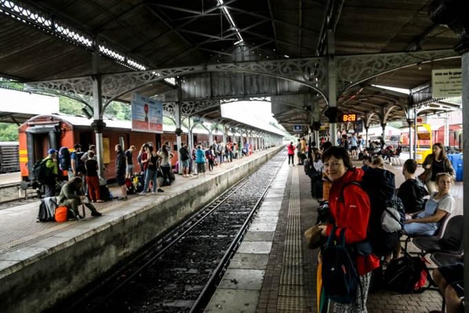 Kandy dworzek kolejowy