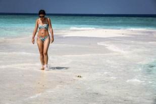 Maafushi Malediwy sand bank 2