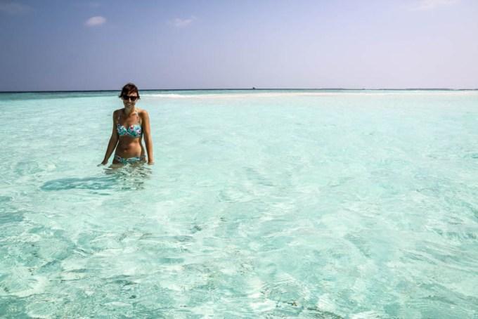 Maafushi Malediwy sand bank 4