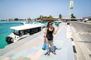 Malediwy lotnisko wylot