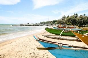 Tangalle Sri Lanka łódki